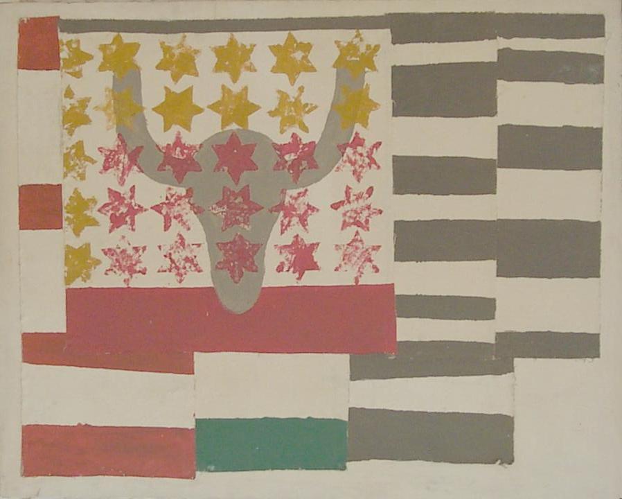 """""""Bandera"""" (1988) - Mª Magdalena Duran Coll"""
