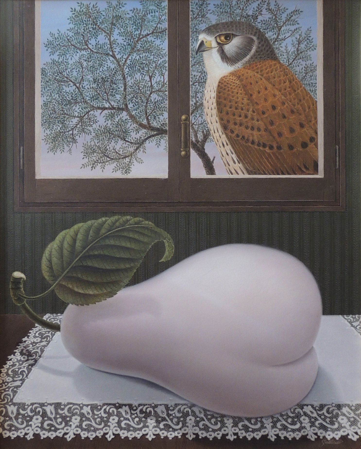 Historia de una pera y un halcón