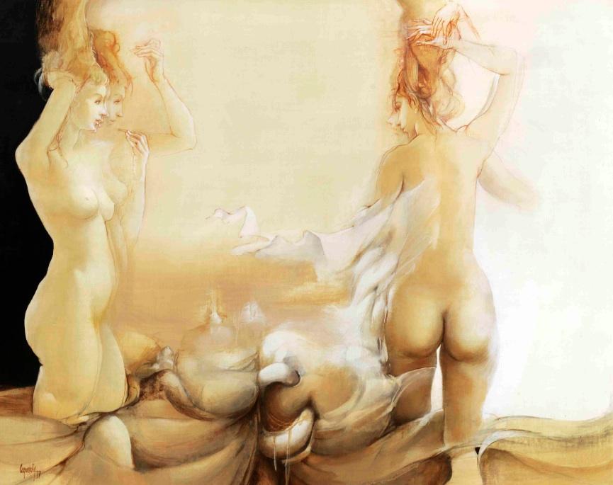El descanso de la modelo (1977) - Glauco Capozzoli