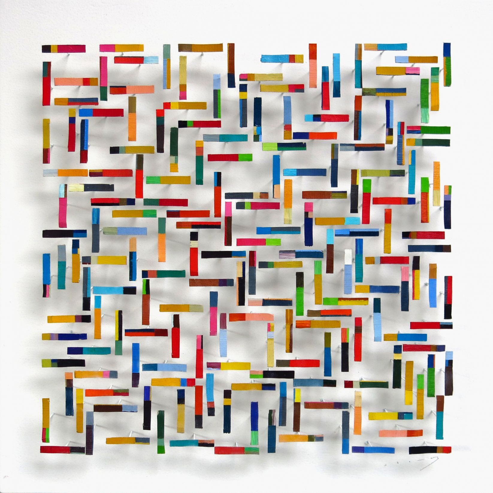 square of rectangles (2020) - Ramón Suau