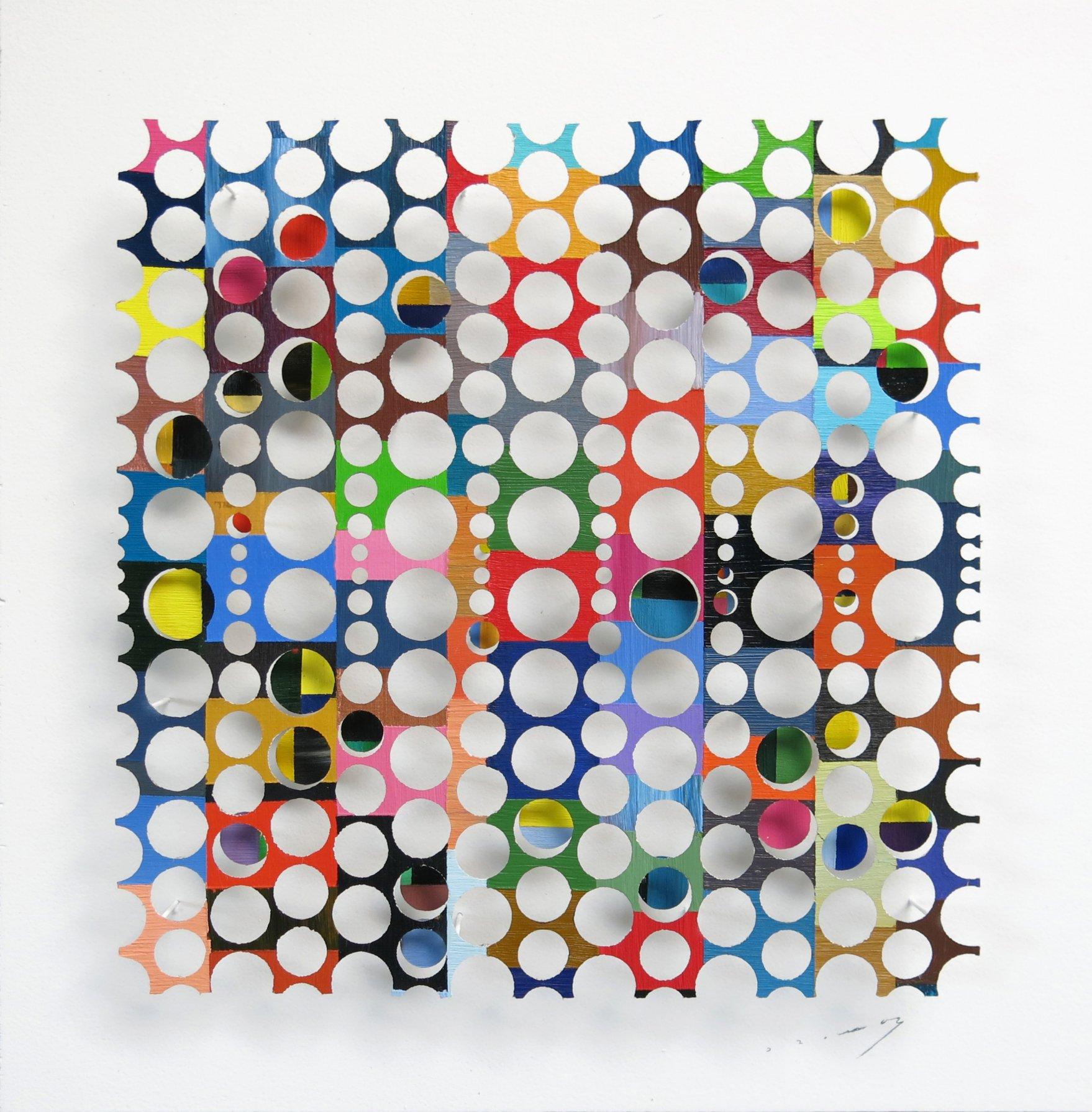 square of sunken circles (2020) - Ramón Suau