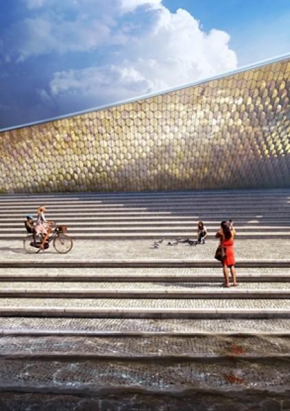 MAAT - Museu de Arte, Arquitetura e Tecnologia. Cortesía Fundação EDP