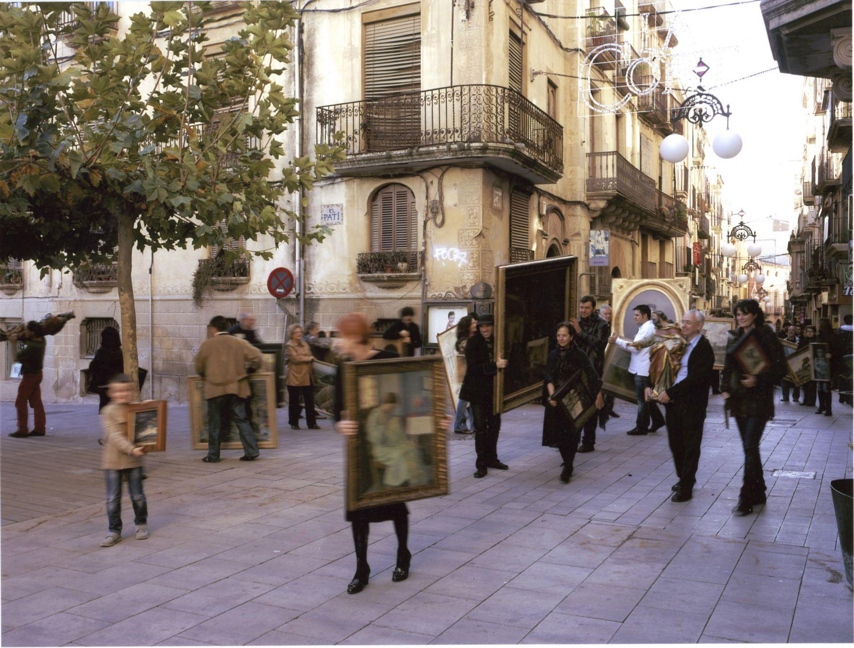 Migdia a Valls (2009) - Perejaume