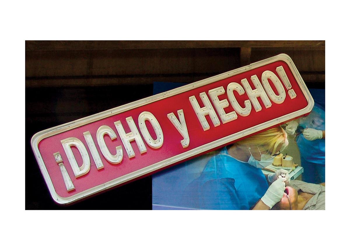 ¡DICHO Y HECHO! (2013) - Antoni Muntadas