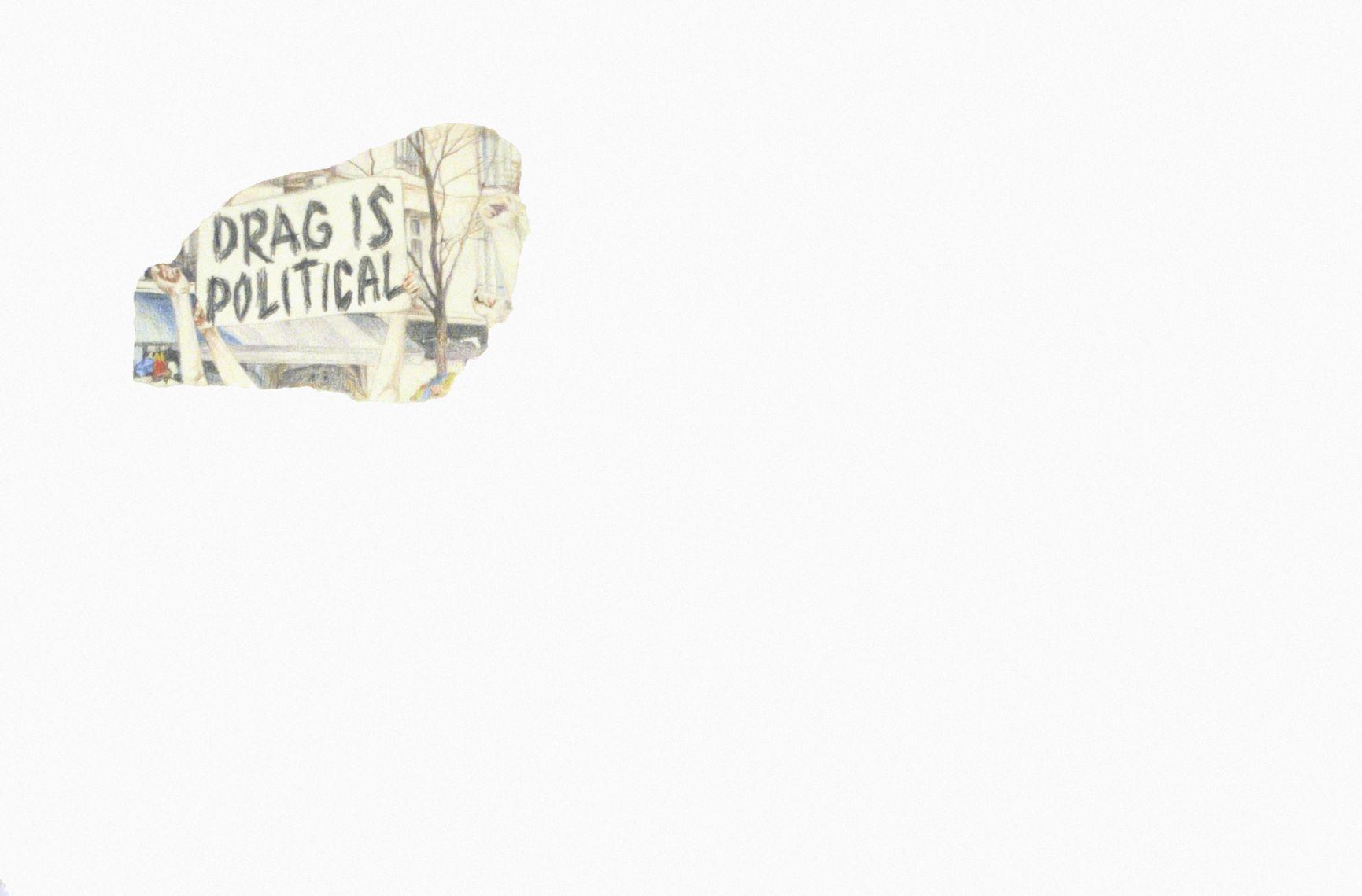 El drag es político #1 (2015) - Cabello/Carceller