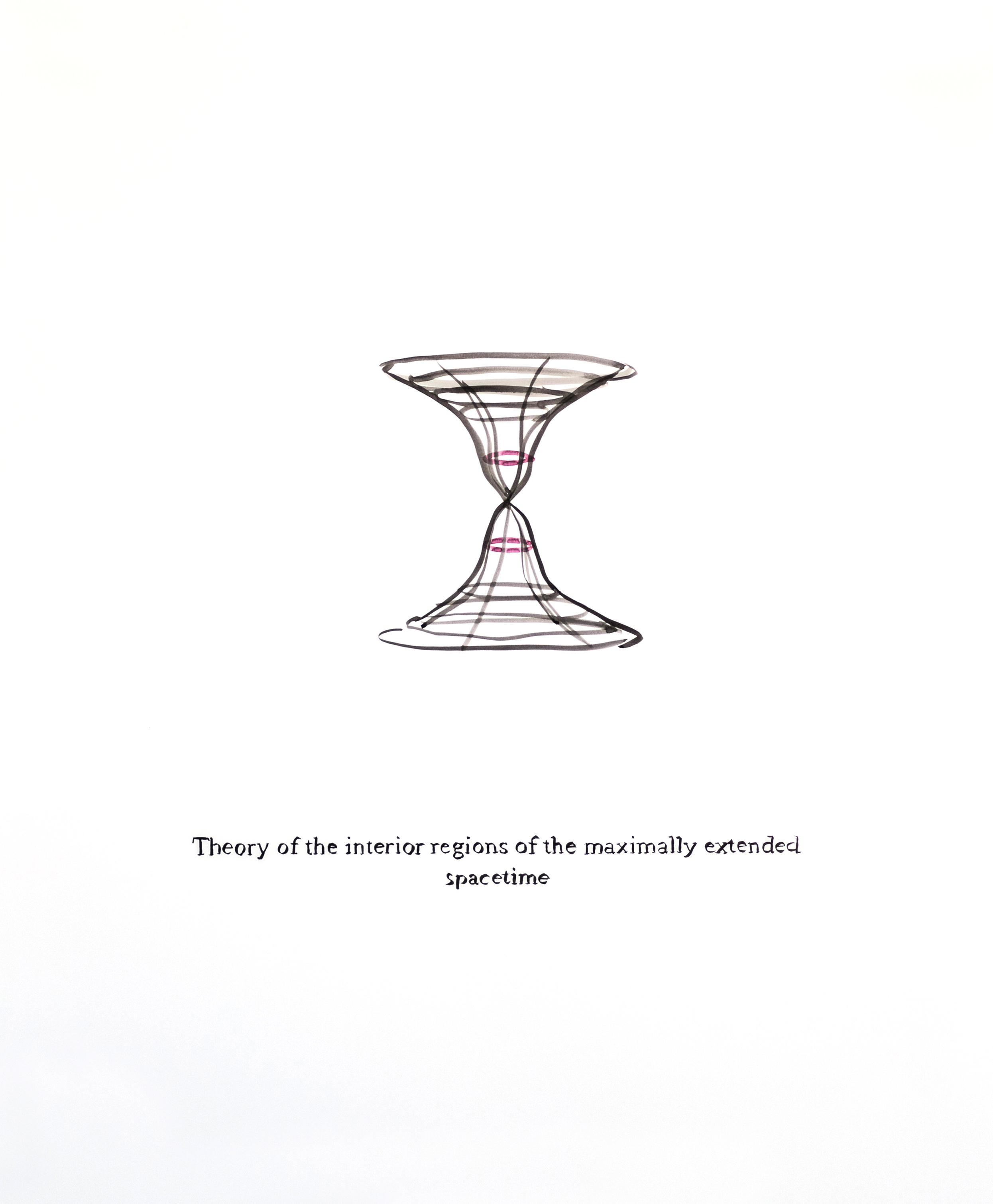 Theory of the Interior Regions of the Maximally Extended Spacetime