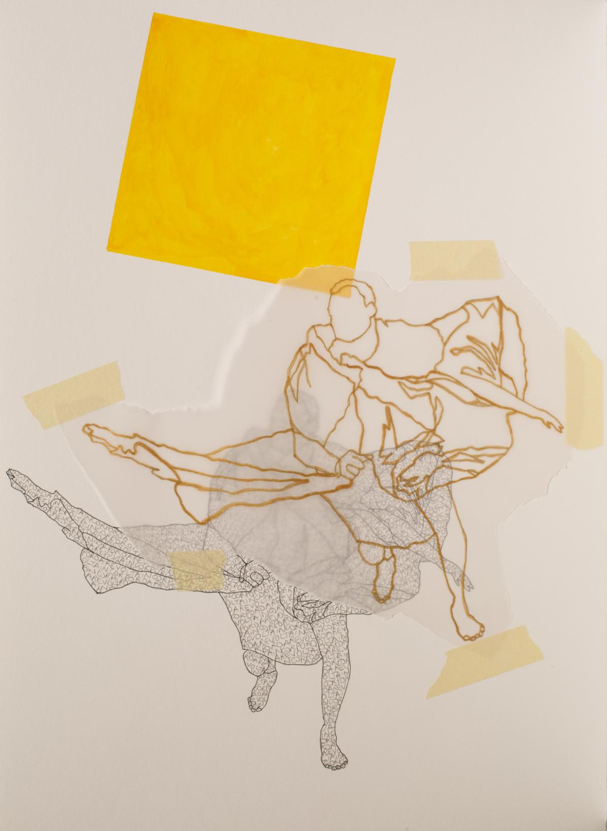 Notas al pie: La revuelta (con Hélio Oiticica) #1 (2020) - Cabello/Carceller