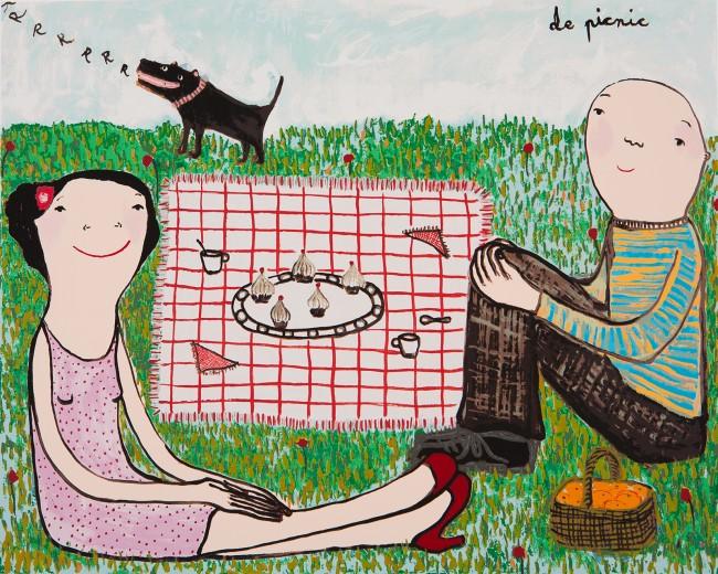 De picnic (2015) - Eva Armisén