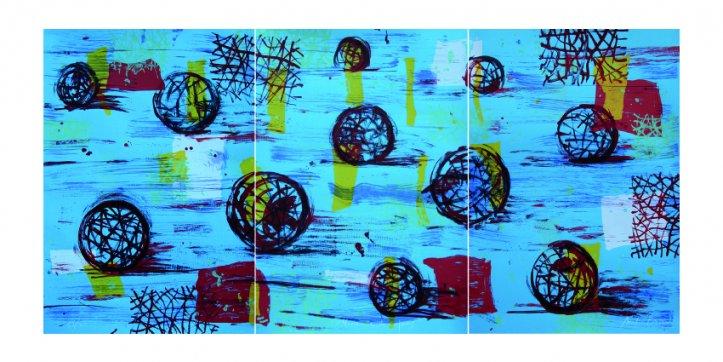 Horizonte de esferas (2018) - Antón Patiño