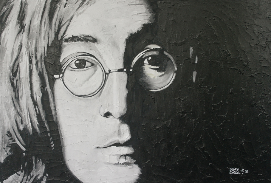 John Lennon (2013) - Andoni García Bañegil