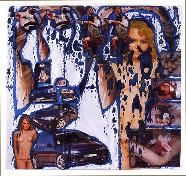 Dessin Jaloux (Peugeot) (2006) - Thomas Hirschhorn