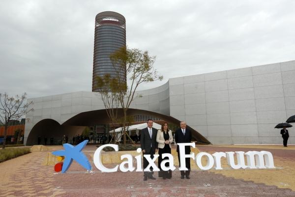 Foto CXF Sevilla Juan Espadas-Susana Díaz-Isidro Fainé