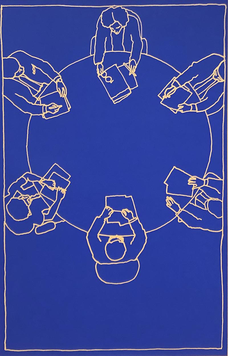 Meeting (1999) - Antoni Muntadas