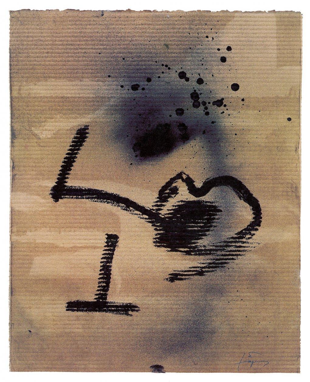 Sin título. Proyecto Etiqueta ENATE Reserva Especial 1998 (1998) - Antoni Tàpies