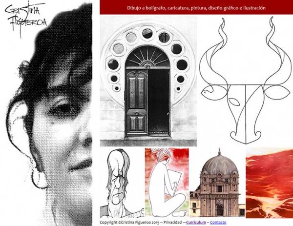 Diseño web completo www.cristinafigueroa.es