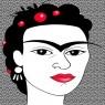 Caricatura de Frida