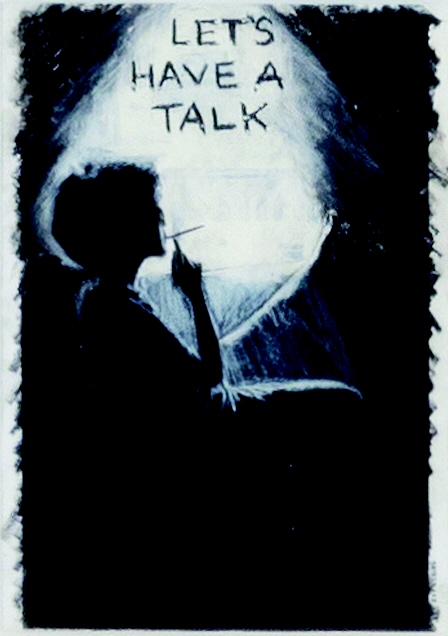 The Mythic Being. Let's Have a Talk (1975) - Adrian Piper