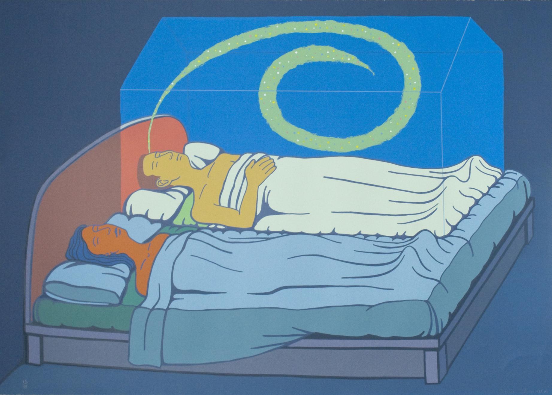 Pareja en la cama (2005) - Alfredo García Revuelta
