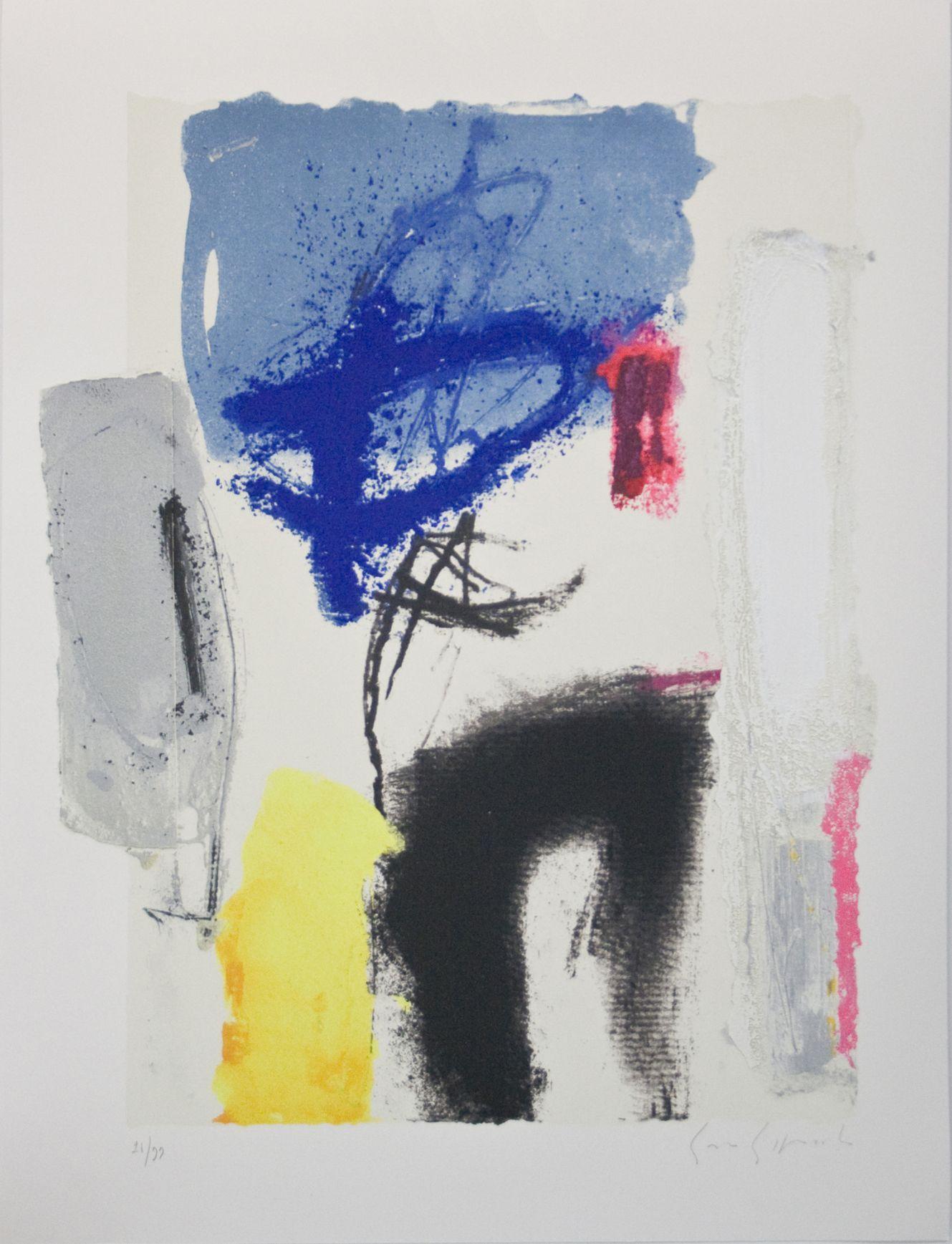 """""""Controluce"""" carpeta con 5 serigrafías (2005) - Enzo Esposito"""