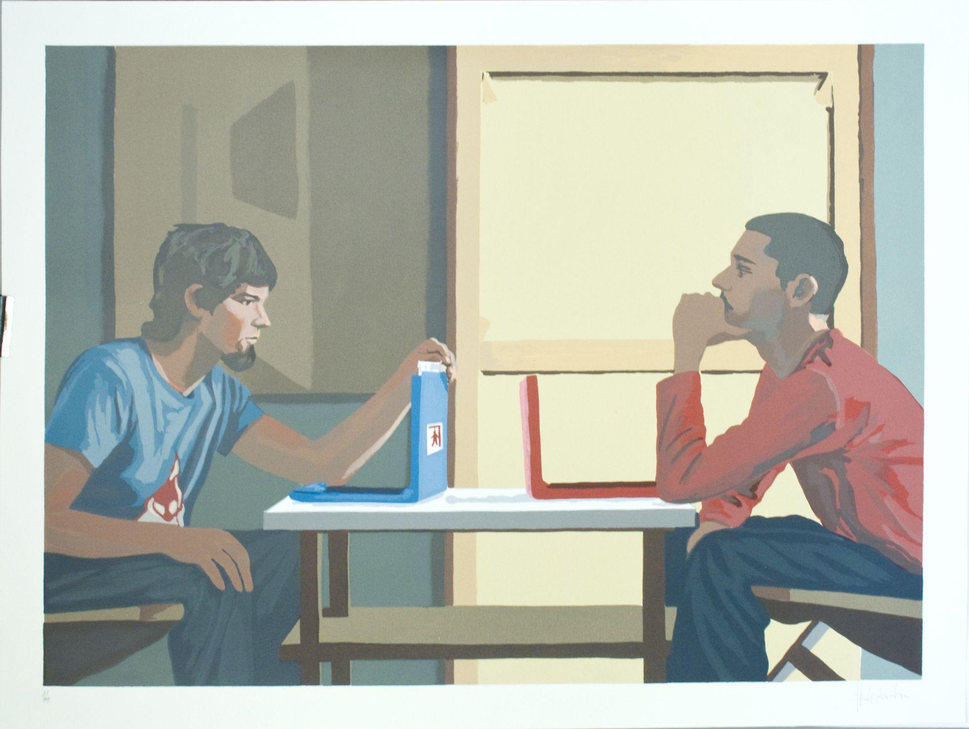 Jugando al ahorcado (2004) - Martín y Sicilia