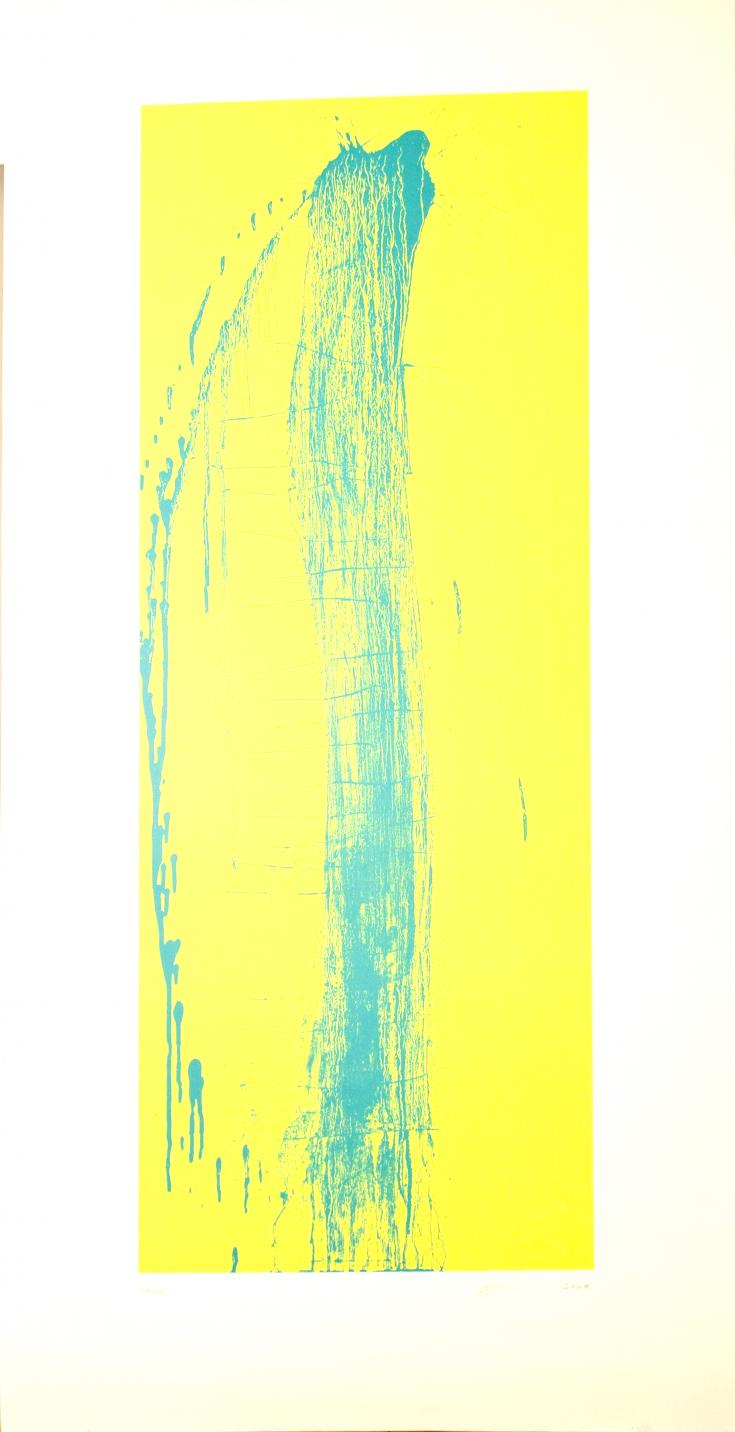 Blue and yelow (2004) - Pat Steir