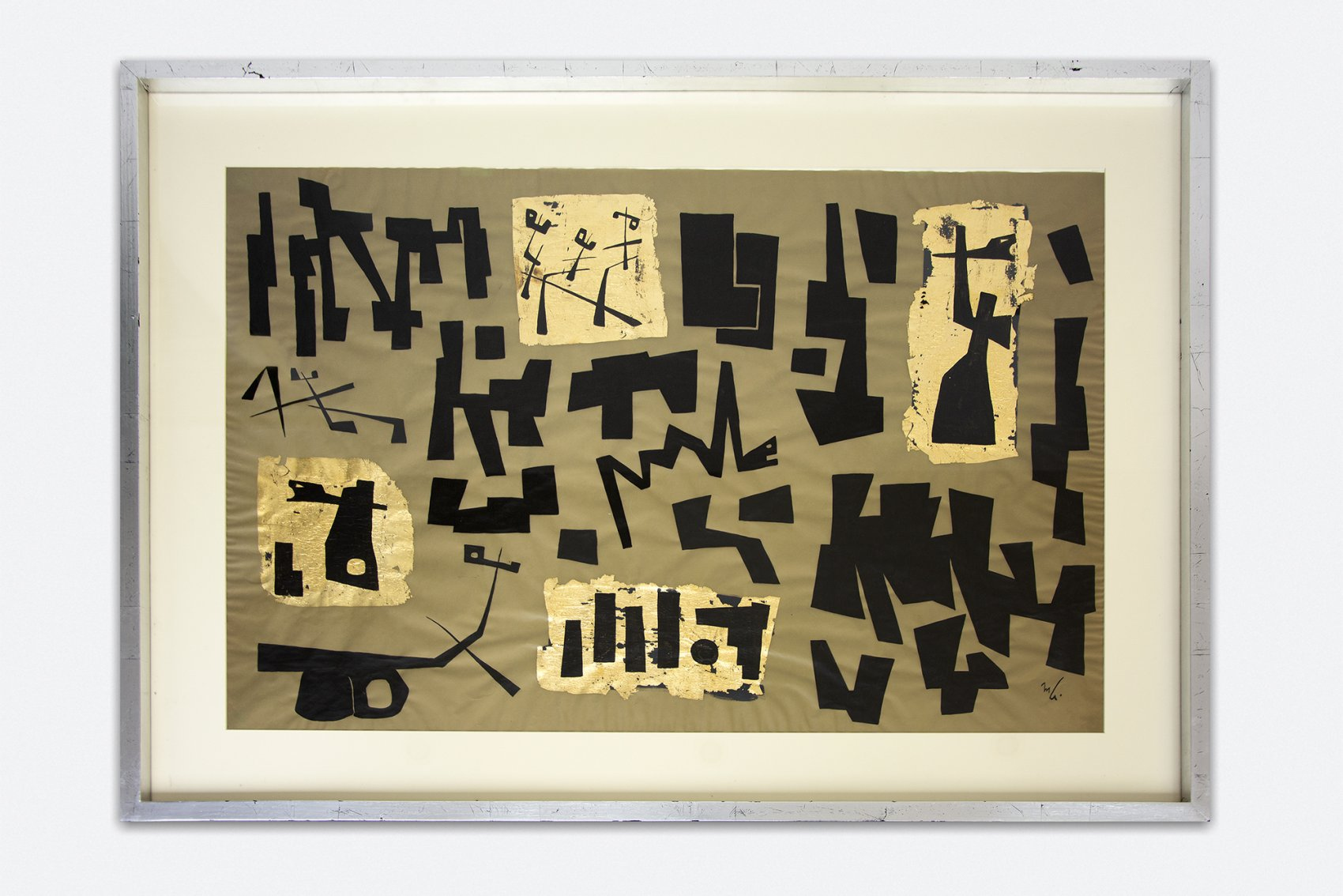 Untitled (1950) - Mathias Goeritz