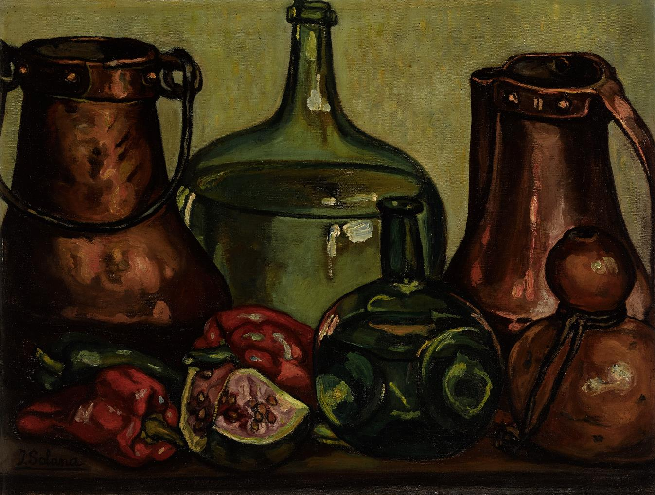 Bodegón con cobres (1967) - José Gutierrez Solana