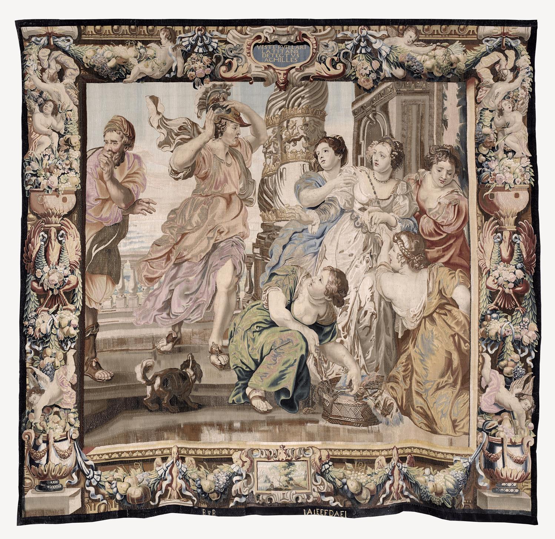 Aquiles descubierto por Ulises y Licomedes (2020) - Pedro Pablo Rubens