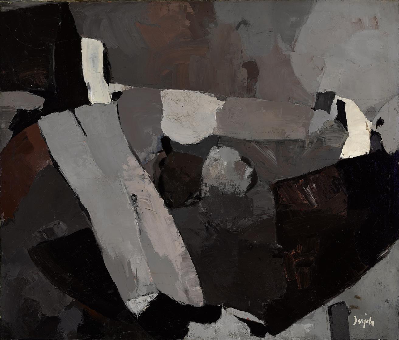 Composición (1960) - Juan Barjola