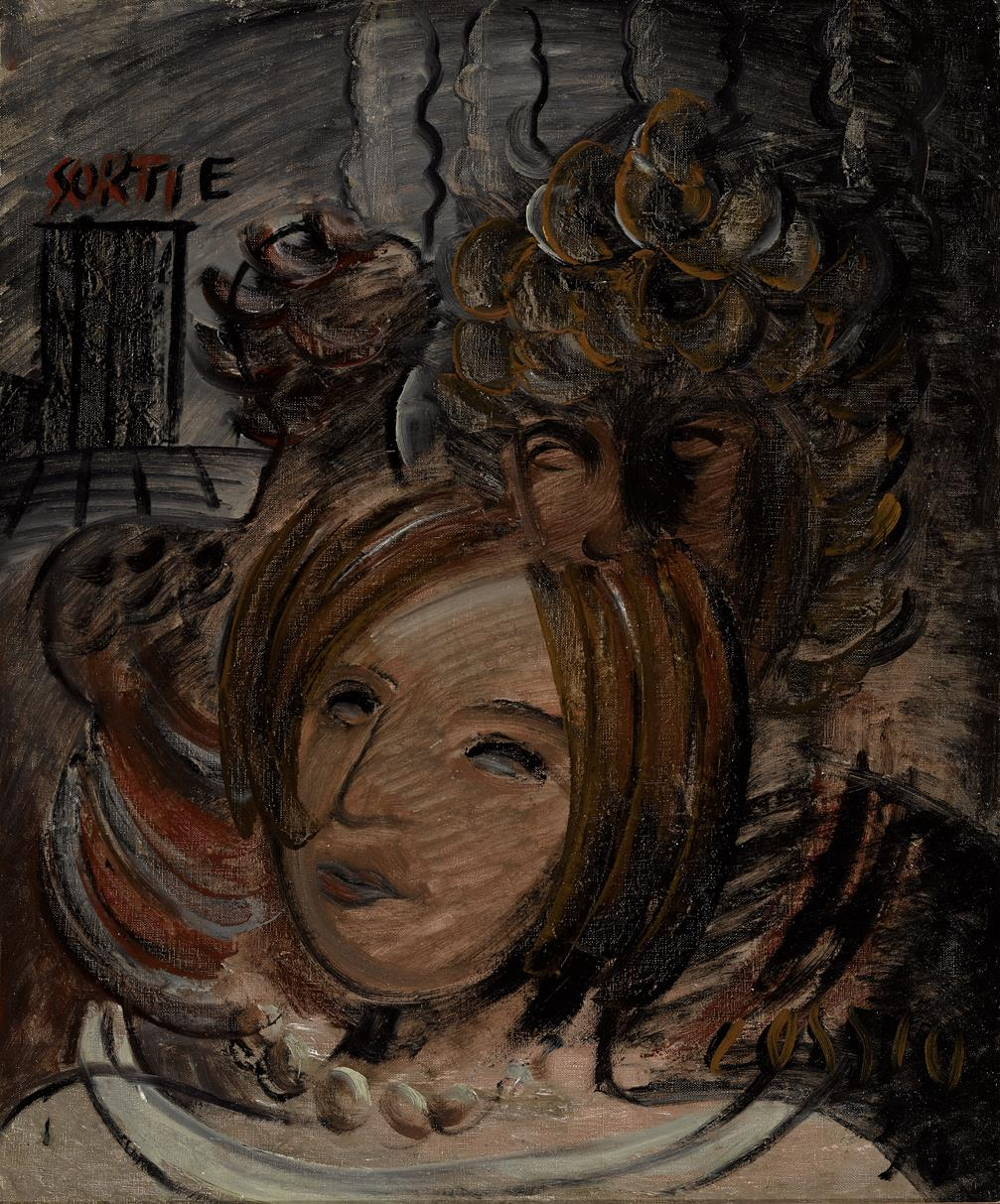 Cabeza de mujer (2020) - Pancho Cossío