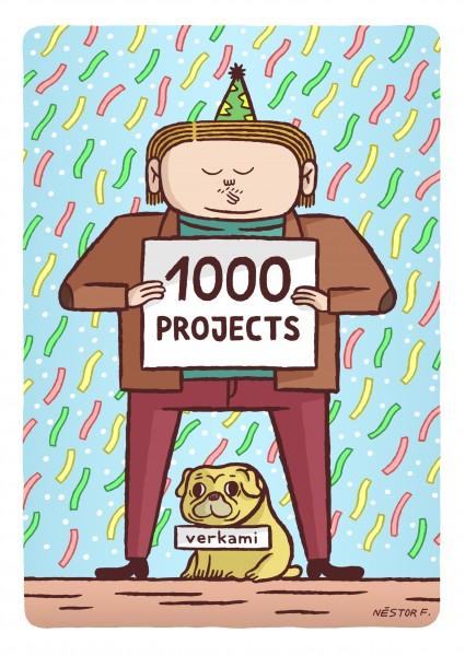 verkami 1.000 proyectos by Nestor Fernandez
