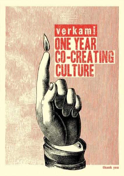 Verkami 1r aniversario by Error! Design