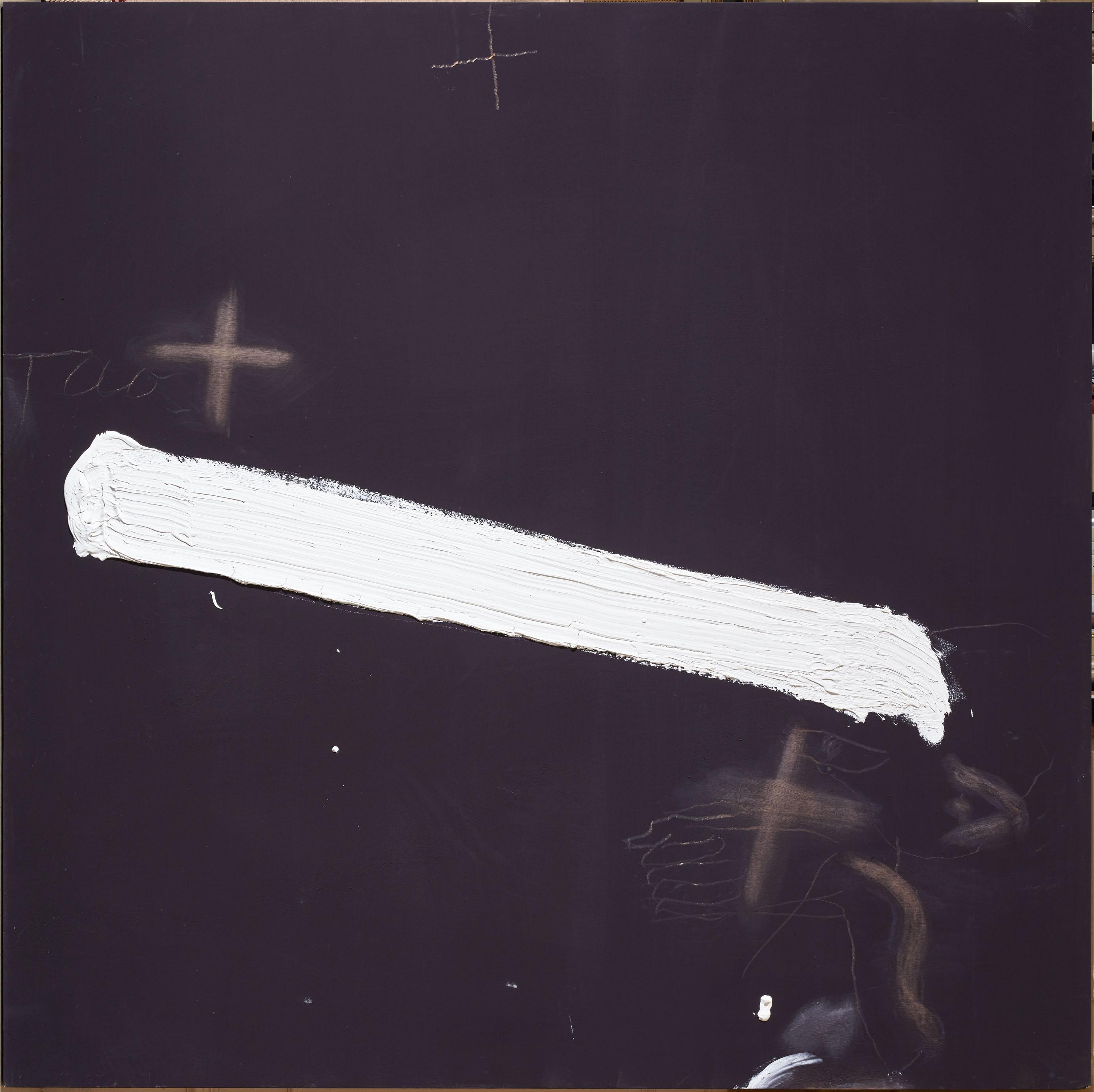 Banda blanca (2007) - Antoni Tàpies