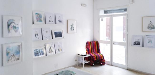 Vista de la galería «Two Birds Gallery and Studio» — Cortesía de la galería