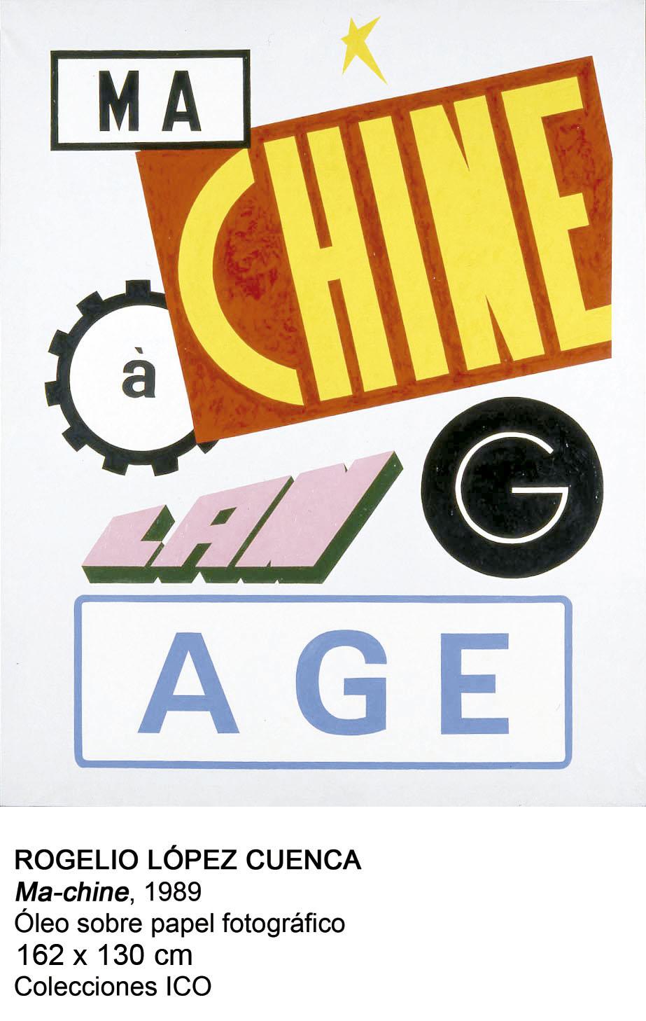 Ma-chine (1989) - Rogelio López Cuenca