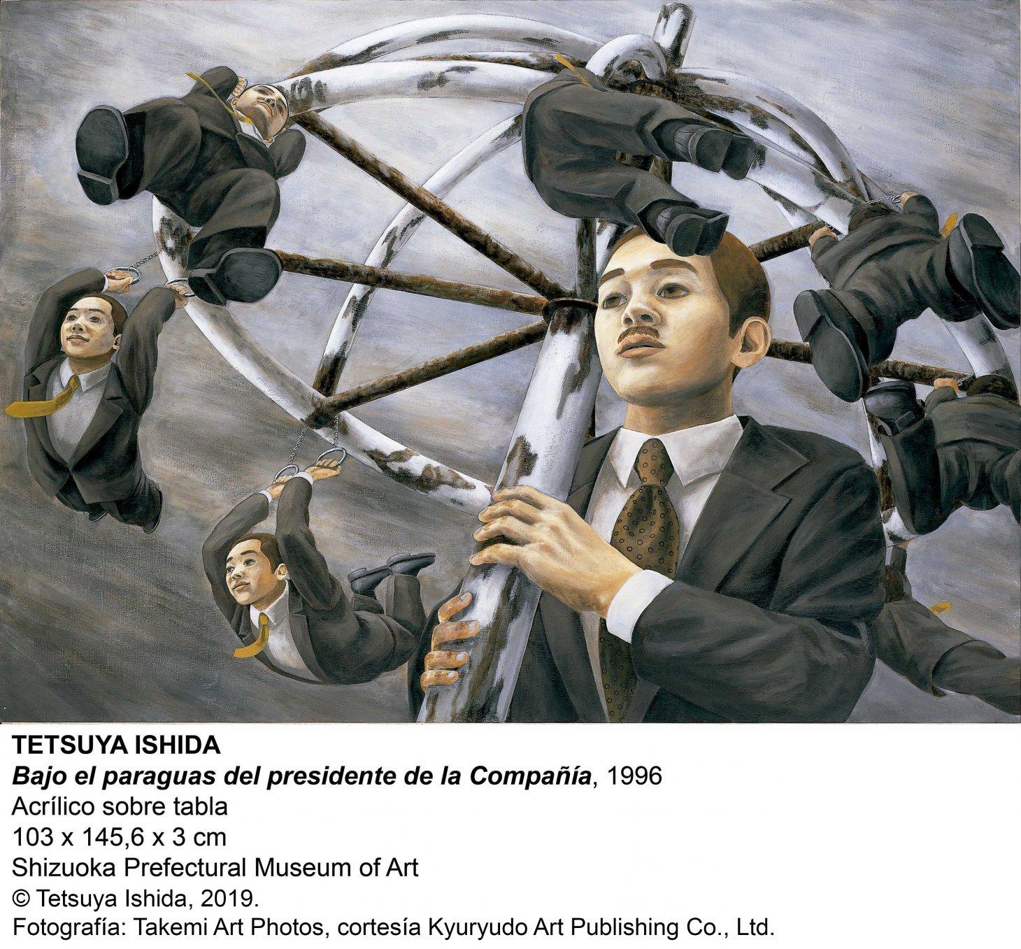 Bajo el paraguas del presidente de la Compañía (1996) - Tetsuya Ishida