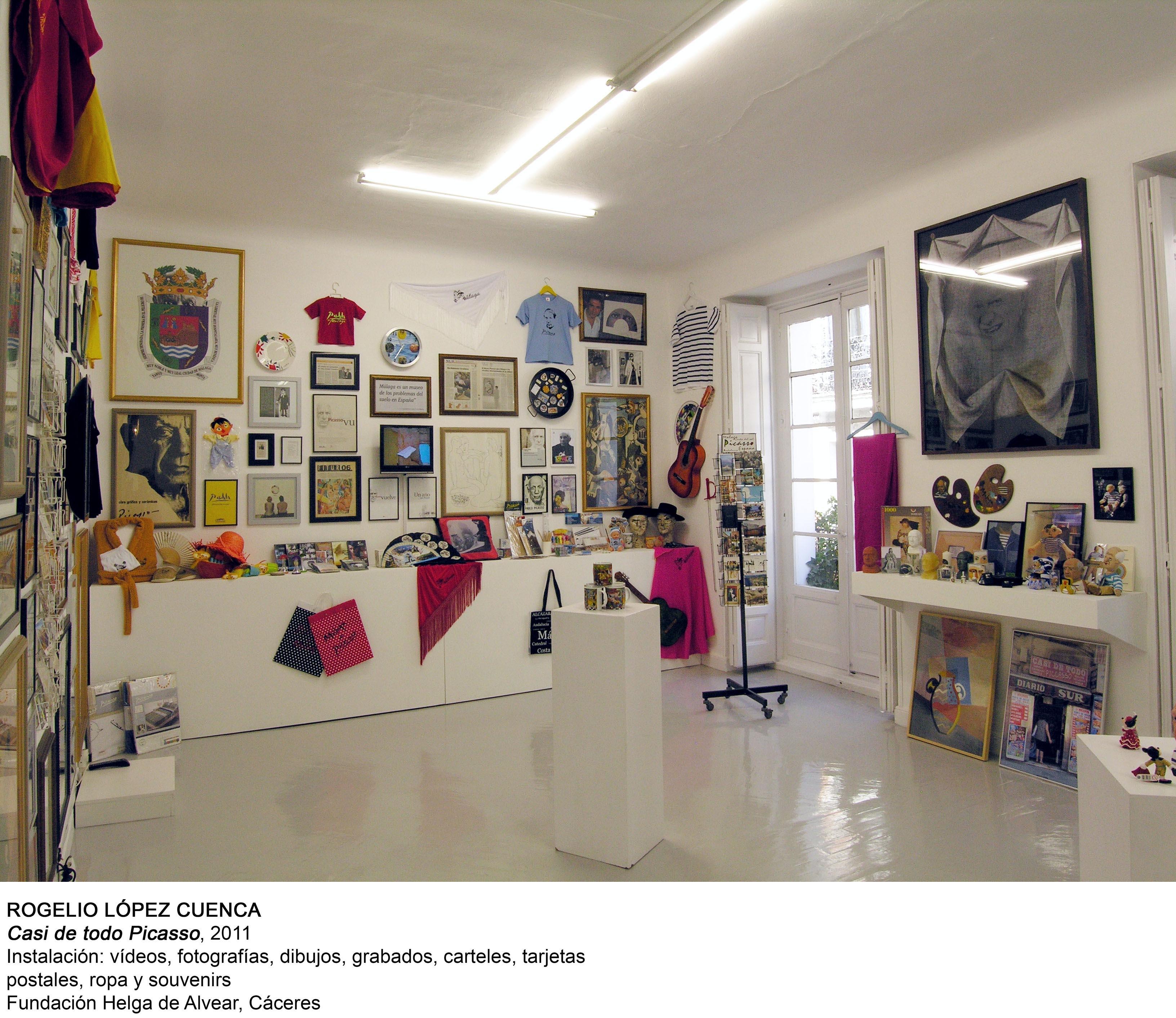 Casi de todo Picasso (2011) - Rogelio López Cuenca
