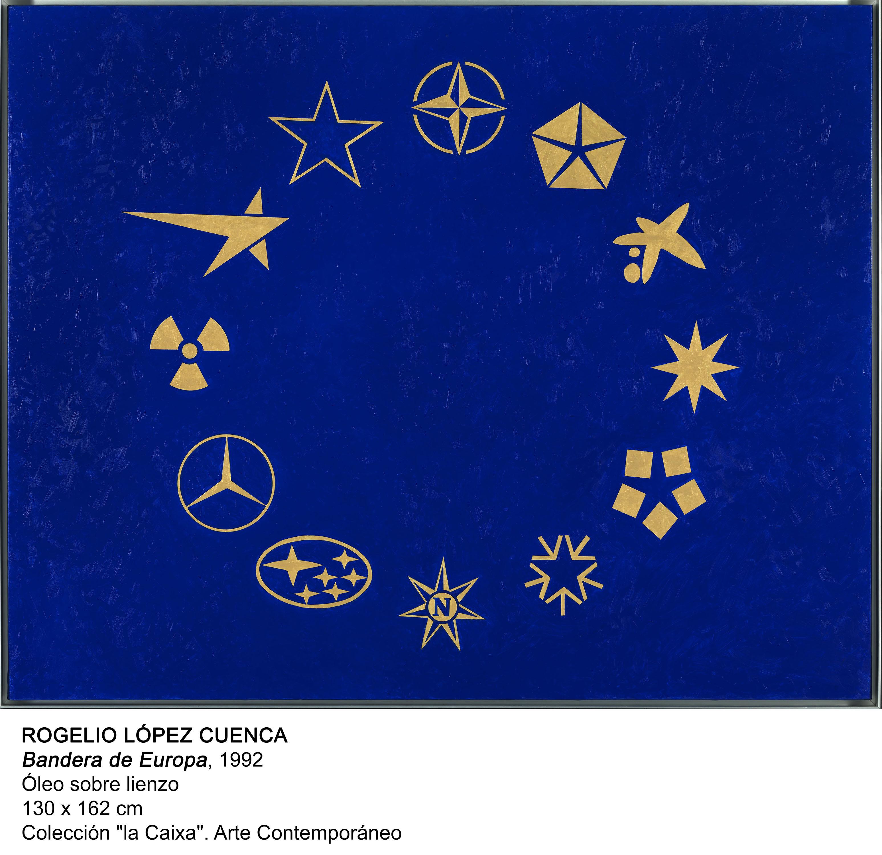 Bandera de Europa (1991) - Rogelio López Cuenca