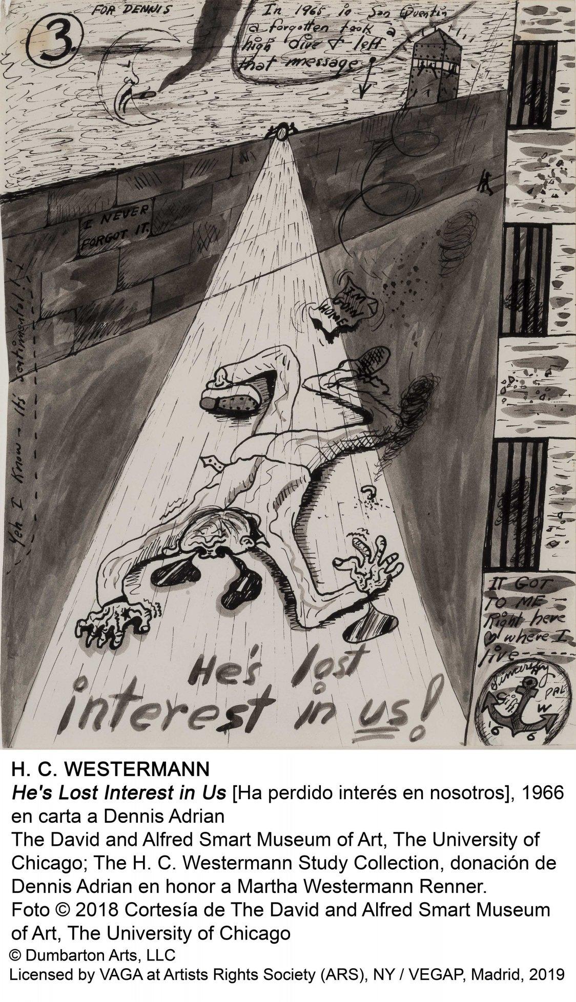 He's Lost Interest in Us (Ha perdido interés en nosotros) (1966) - Horace Clifford Westermann