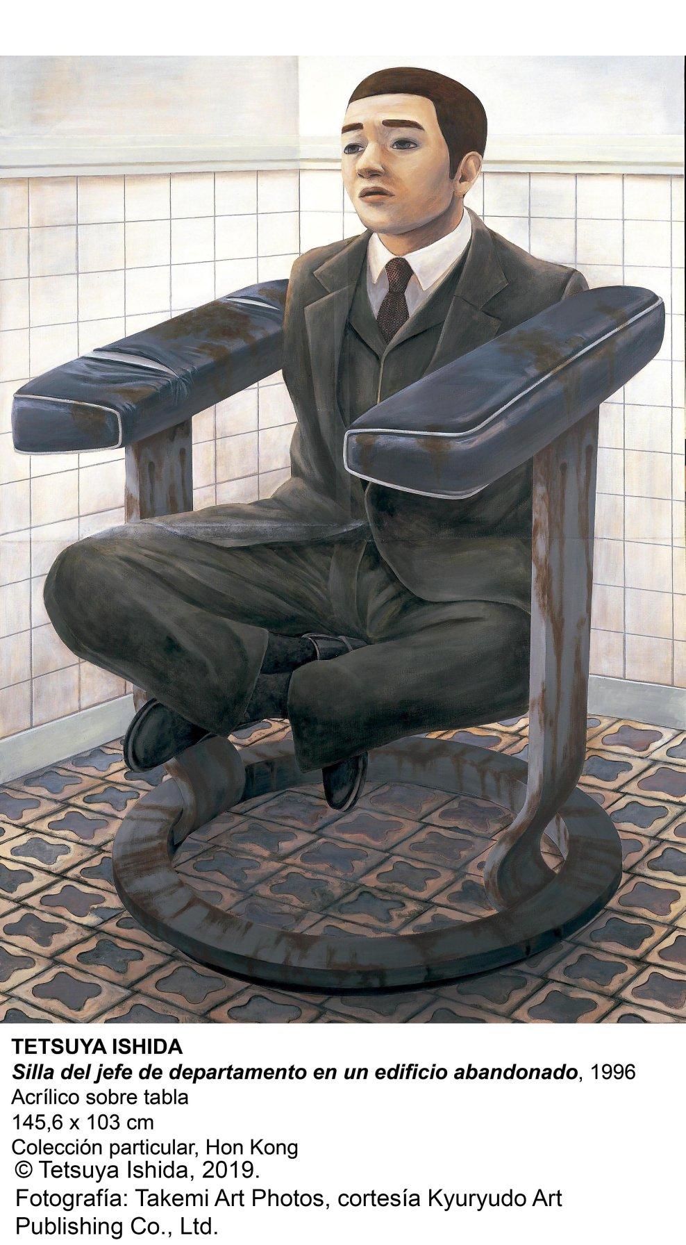 Silla del jefe de departamento en un edificio abandonado (1996) - Tetsuya Ishida