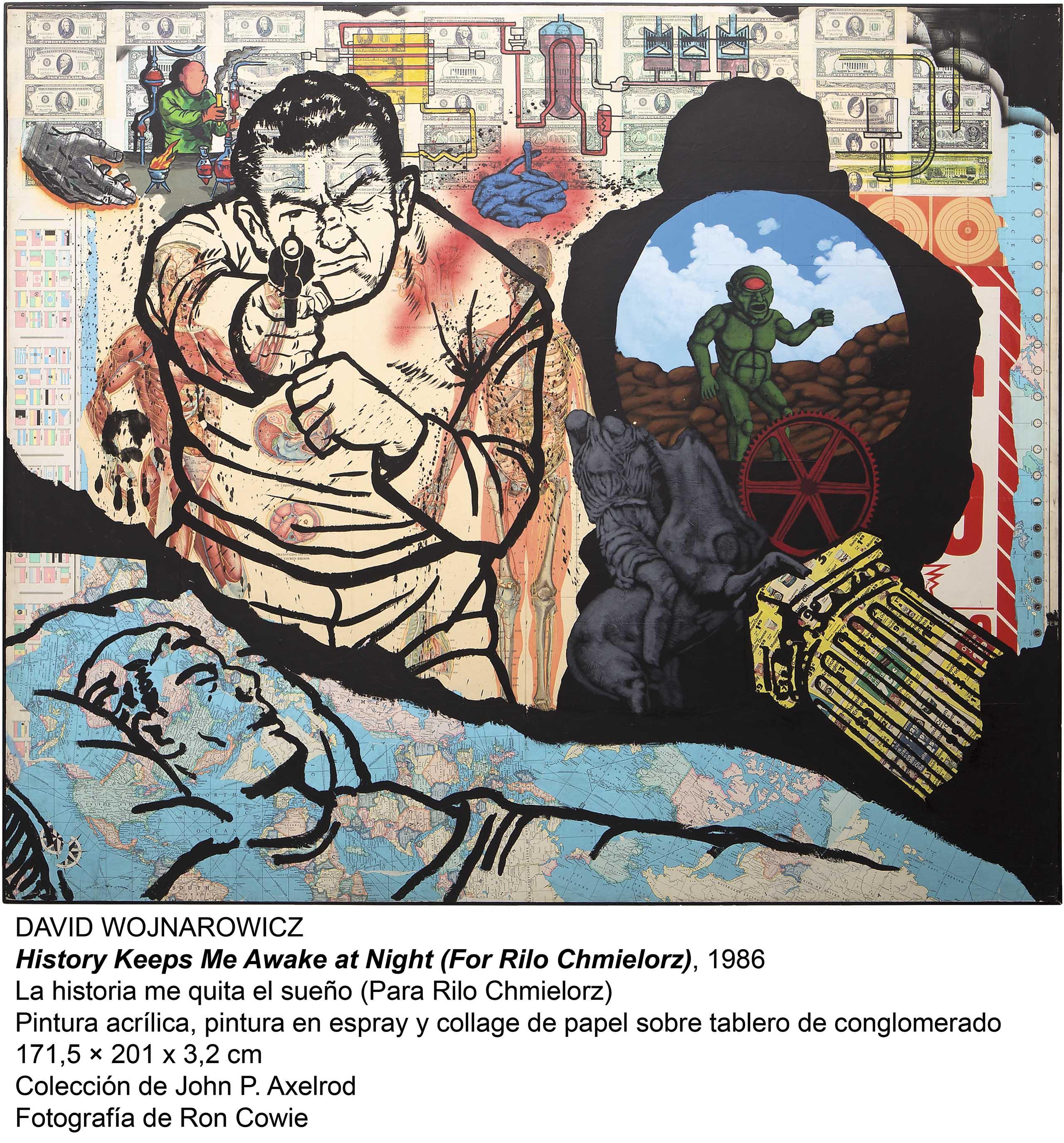 History Keeps Me Awake at Night (For Rilo Chmielorz) - La historia me quita el sueño (Para Rilo Chemielorz)