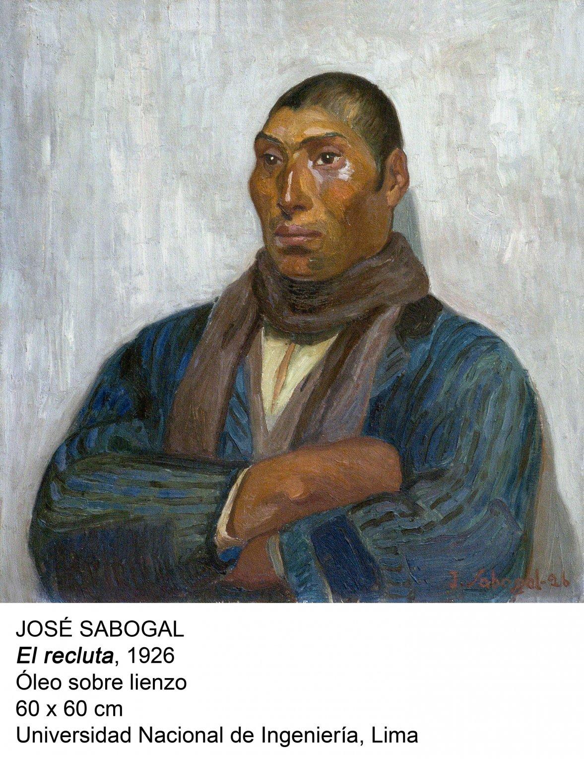 El recluta (1926) - José Sabogal