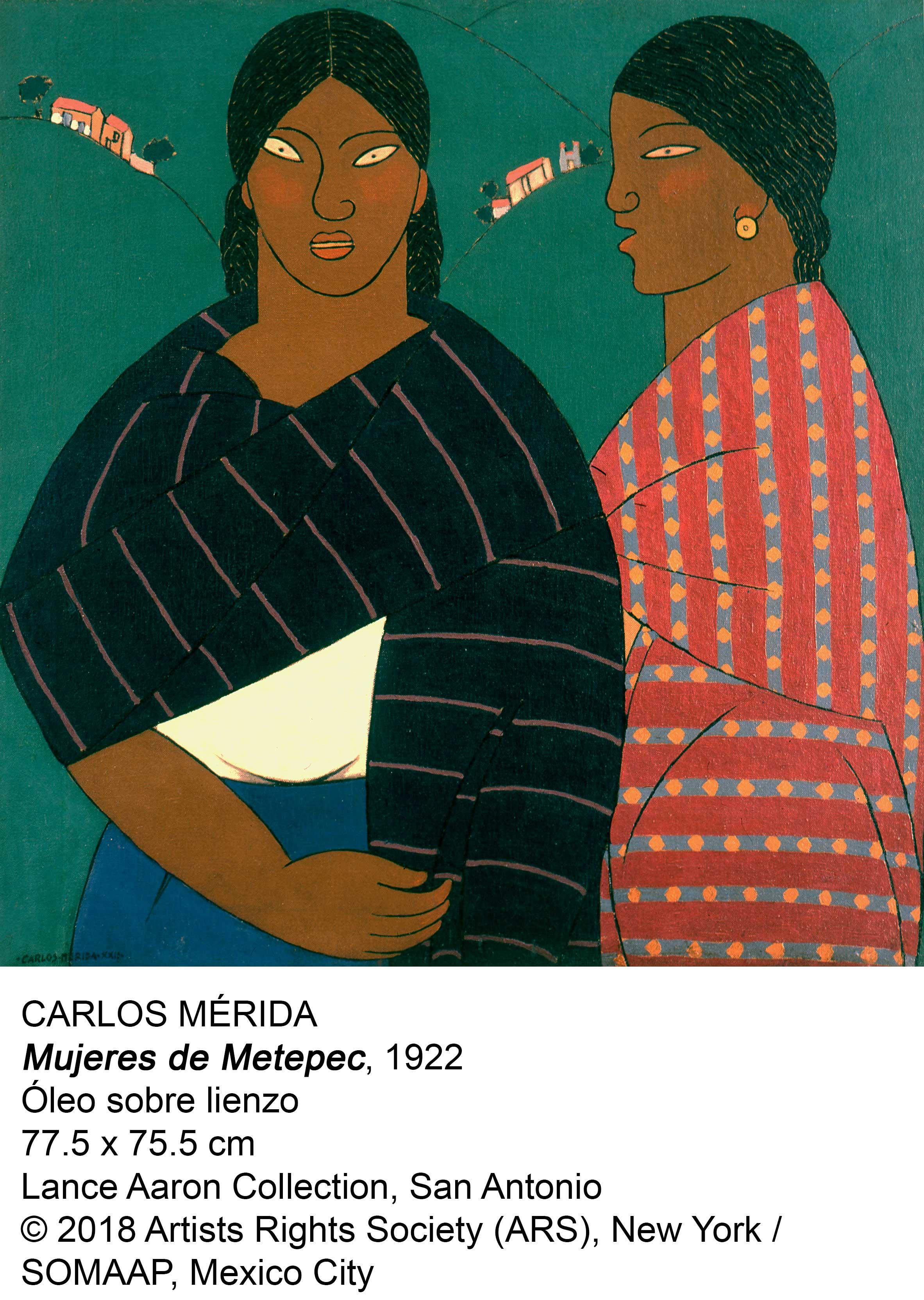 Mujeres de Metepec (1922) - Carlos Mérida