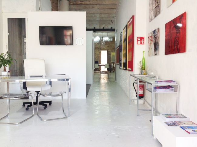 Filippo ioco Studio & Gallery Overview
