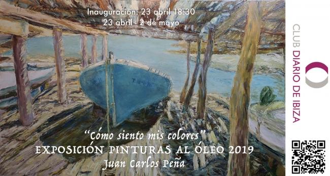 Exposición en Club Diario de Ibiza 23-4-2019