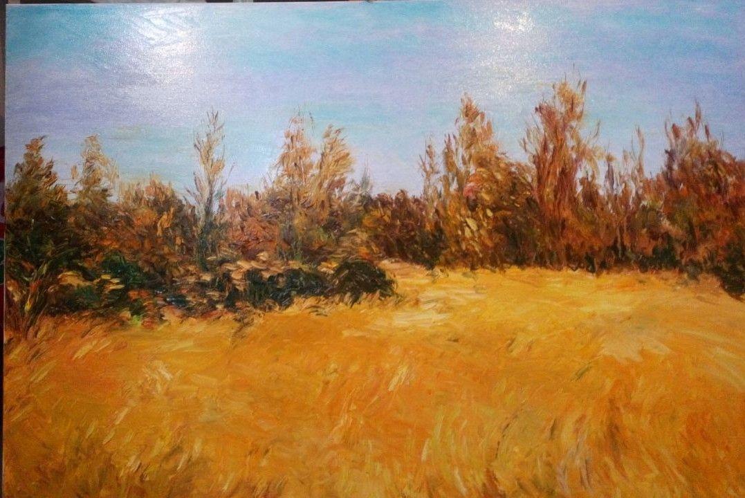 Campo de trigo amarillo (2018) - Juan Carlos Peña Gascó - JCPeña