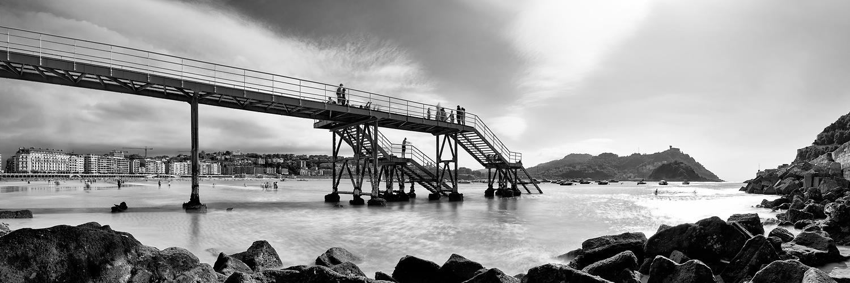 Náutico desde abajo, Donostia, San Sebastian, Pais vasco, Euskadi (2018) - Alberto Rodriguez Ollacarizqueta - fotoramas