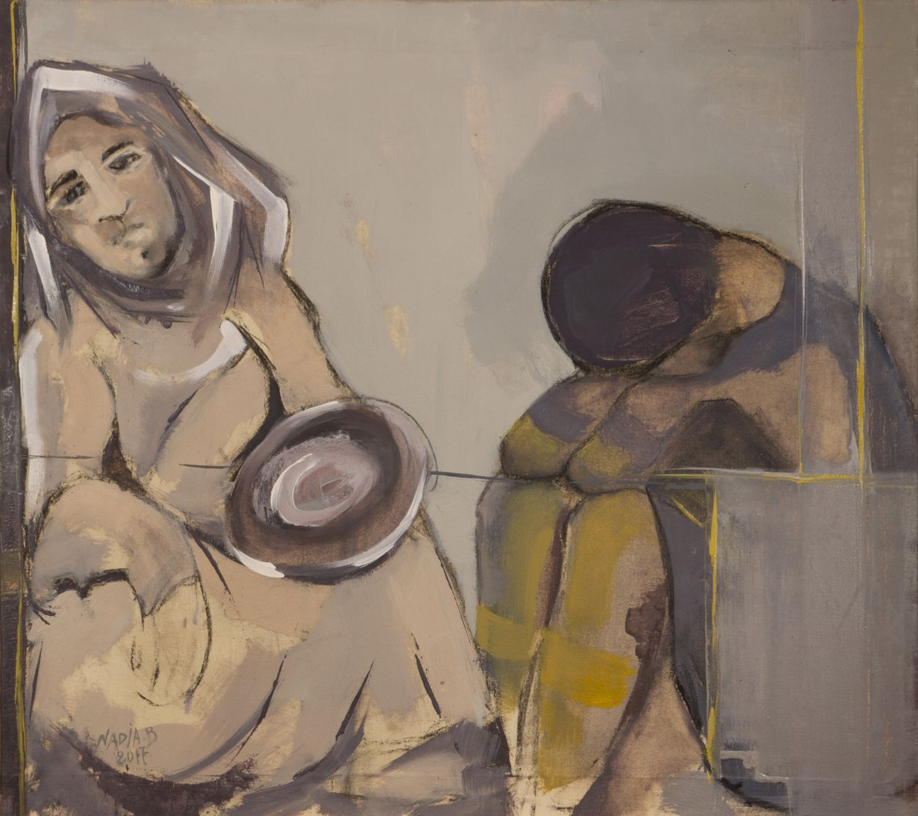 la nececidad (2017) - Nadia Boulaich - NB