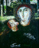Madonna con ternero