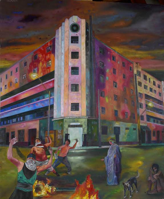 dante en Lima (2015) - Enrique Polanco